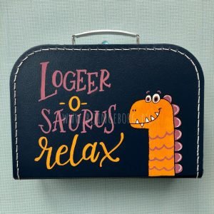 Logeerkoffer dino relax